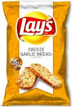 Lays Cheesy Garlic Bread